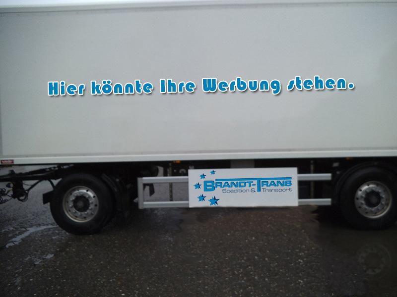 LKW - Werbung